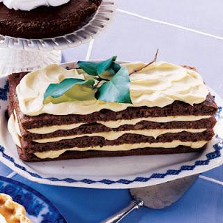 Lemon-Cream Spice Cake