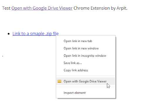 open with google drive viewer