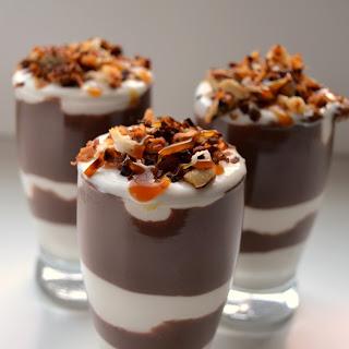 Mini German Chocolate Trifles.