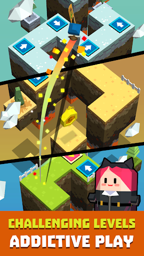 Cubie Jump - Tap Dash apktram screenshots 1