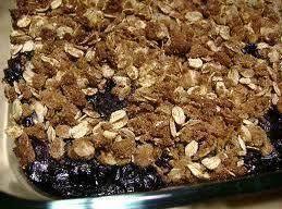 Blueberry Crunch Cobbler