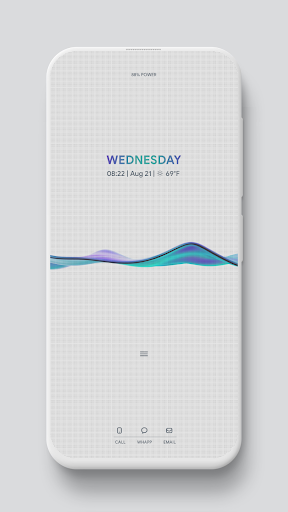 CALMWAVE Animated theme for KLWP Apk Download – Apk America