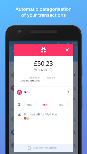 Bankin' - The money and banking app manager screenshot