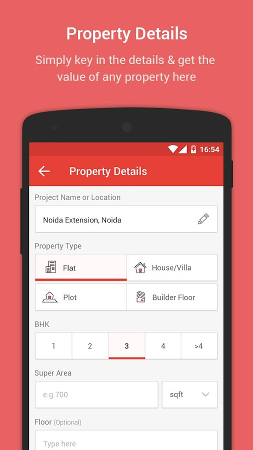 MagicBricks PropWorth- screenshot