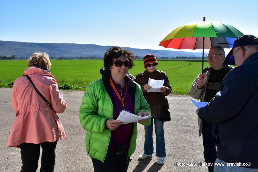 Экскурсия на озеро Хула, гид в Израиле Светлана Фиалкова.