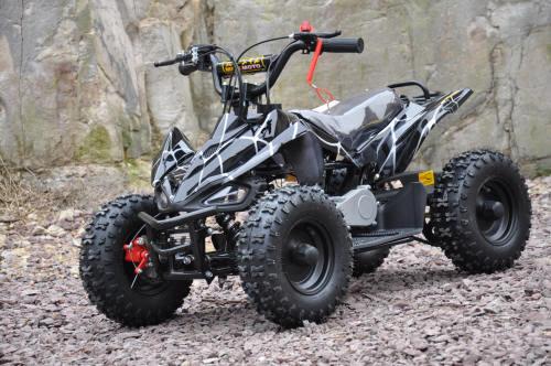 49cc sports quad bike atv kids quad 2 stroke motoworks sale cheap offroad black raptor