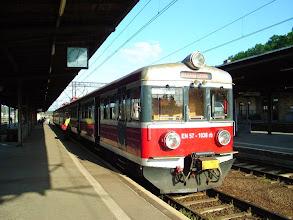 Photo: Jelenia Góra: EN57-1038 po przyjeździe jako 5022 z Wrocławia Głównego przez Legnicę.