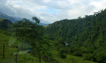 Photo: Out of the bus window: some beautiful scenery
