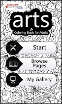 arts Coloring Book for Adults - screenshot thumbnail 01