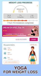 Yoga for weight loss - Lose weight in 30 days plan Screenshot