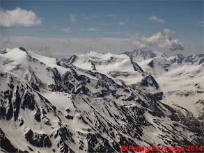 Photo: IMG_8960 Vioz e Presanella scendendo dalla normale del Gran Zebru