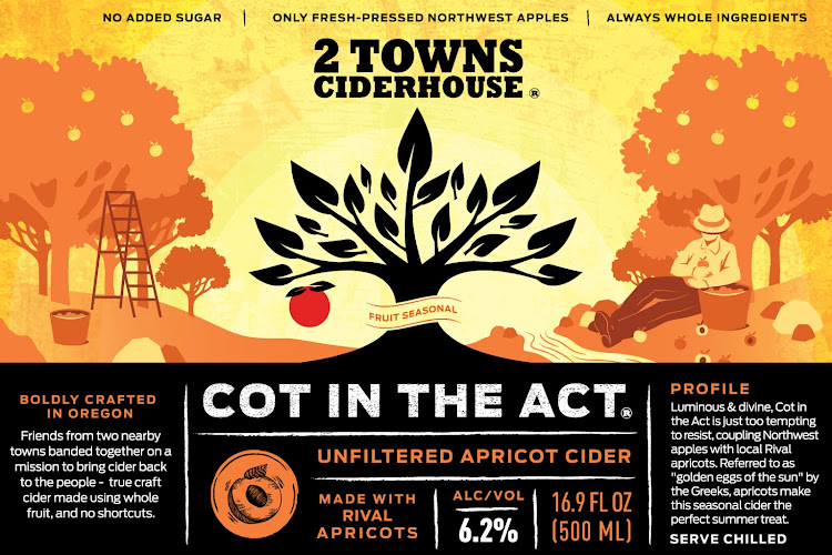 Logo of 2 Towns Ciderhouse - Cot In The Act