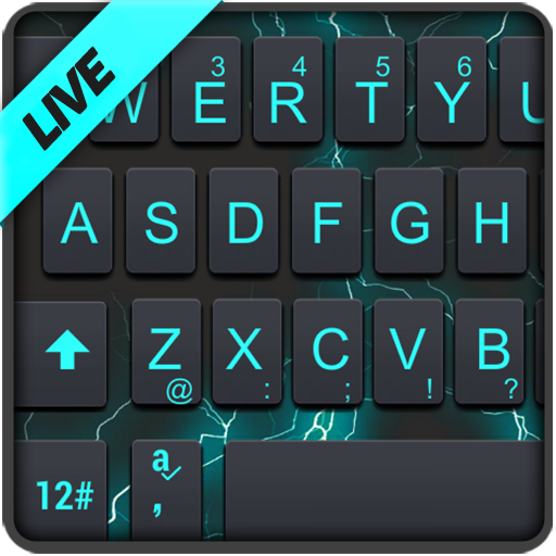 Flash Light Keyboard Theme