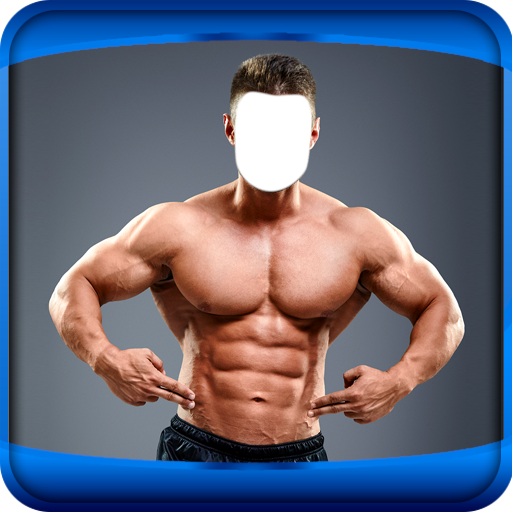 Man Bodybuilder Photo Montage