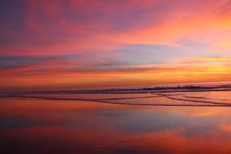 Photo: Romantic sunset at Stone Steps Beach