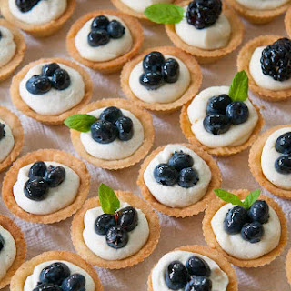 Mascarpone Cheesecake Mini-Tarts.