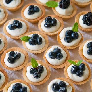 Mascarpone Cheesecake Mini-Tarts.