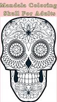 🌈 Skull Mandala  For Aduls 🌈 - screenshot thumbnail 05