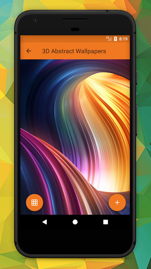3D Abstract HD Wallpapers & Backgrounds - Android Apps on ...