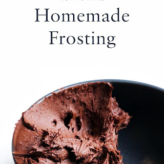How to Make Frosting.