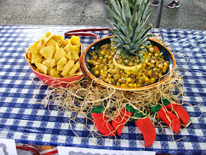 Photo: Our Smoked Tropical Salsa, 2nd Place @ the Utah State Fair.