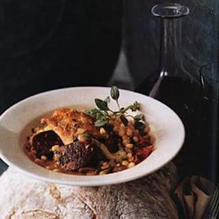 Chicken and Sausage Maque Choux