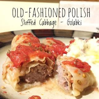 Old-Fashioned Polish Stuffed Cabbage – Golabki.