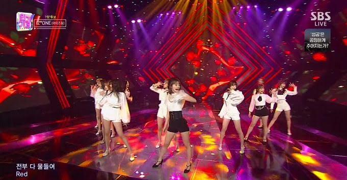 (TV-Music)(1080i) IZONE Part – SBS Inkigayo 181111