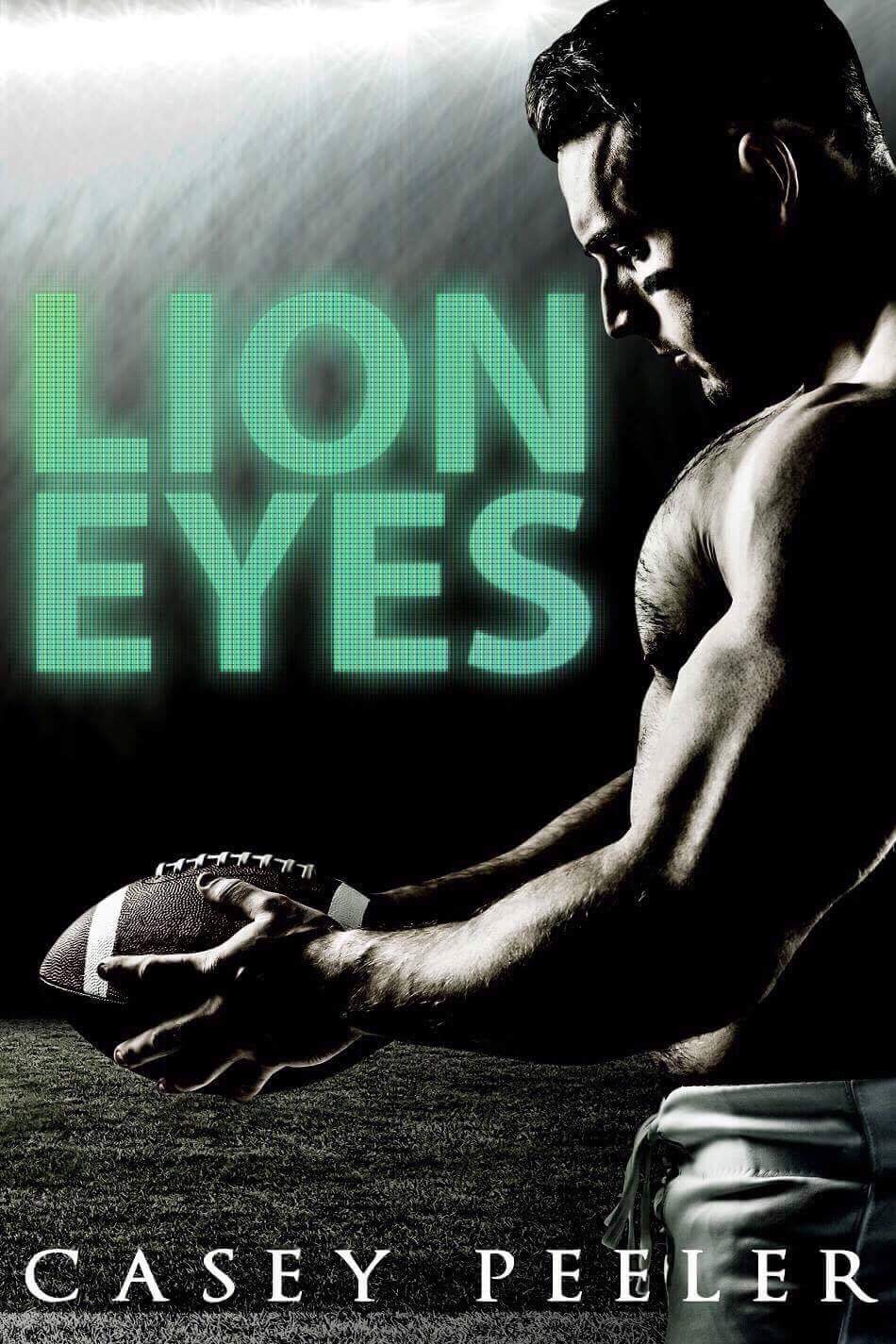 Front Cover, Lyon Eyes by Casey Peeler