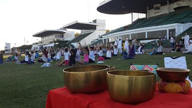 Photo: Terapia del Sonido con Cuencos en el hipódromo