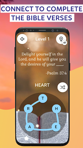 Bible Word Puzzle Games : Connect & Collect Verses 1.5 screenshots 1