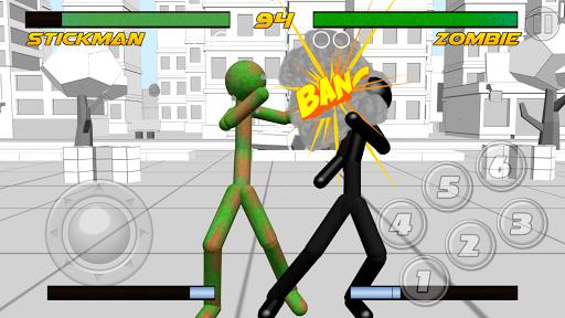 stickman fighting 3d screenshot 1
