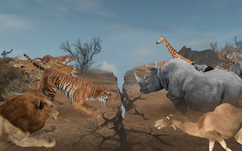 Wild Animals Online WAO 3.411 MOD + DATA (Unlimited Money) 2
