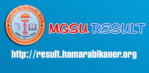 Mgsu result