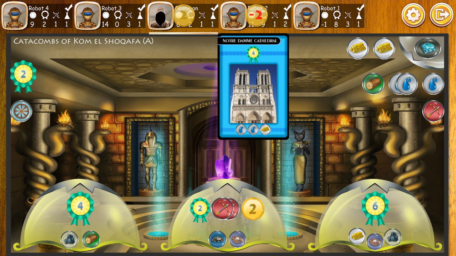 Mystic Miracles - Board Game- screenshot
