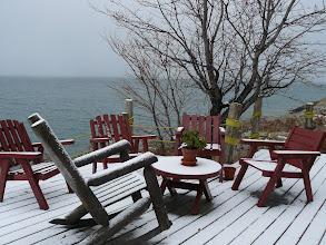 Photo: deck