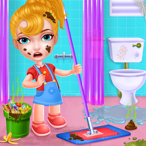 Keep Your House Clean - Girls Home Cleanup Game Icon