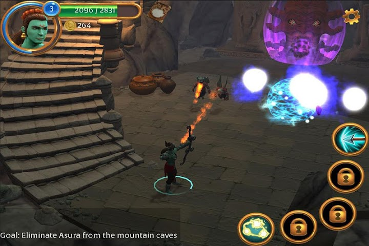 android Gamaya Legends Screenshot 3