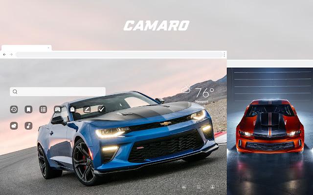Camaro HD Car Wallpapers New Tab Theme