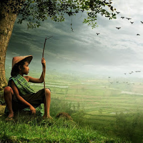 look to the future by Budi Cc-line - Digital Art People ( indonesia )