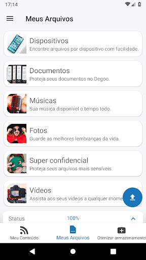 Grátis 100 GB de Backup - Degoo - Revenue & Download
