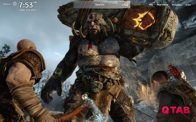 God Of War Wallpapers God Of War New Tab