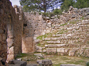 Photo: Arykanda, Bouleuterion