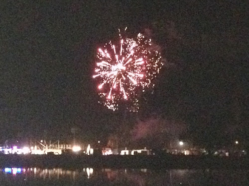 2017 Narrabri Show fireworks