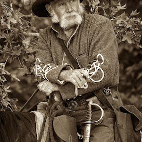 Reenactor Portrait by Samuel Burns - News & Events US Events ( reenactment, battle of chickamauga, 150th, ga,  )