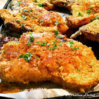 Crispy Oven Baked Pork Chops.