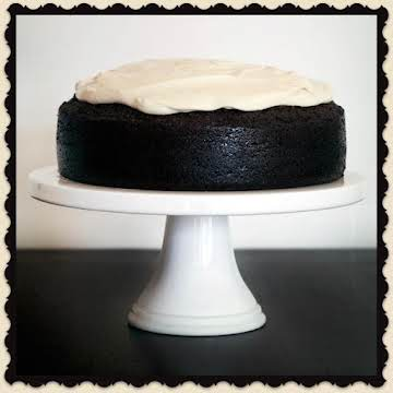 Dark Chocolate Guinness Cake w Bailey's Icing
