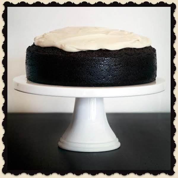 Dark Chocolate Guinness Cake W Bailey's Icing