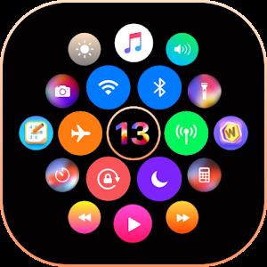 Download iNotify & Control Center iOS13 (Music Control) APK
