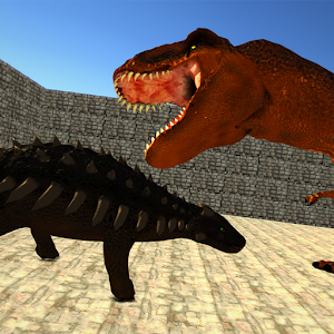 Dino Anky vs T-Rex  Colloseum for PC and MAC